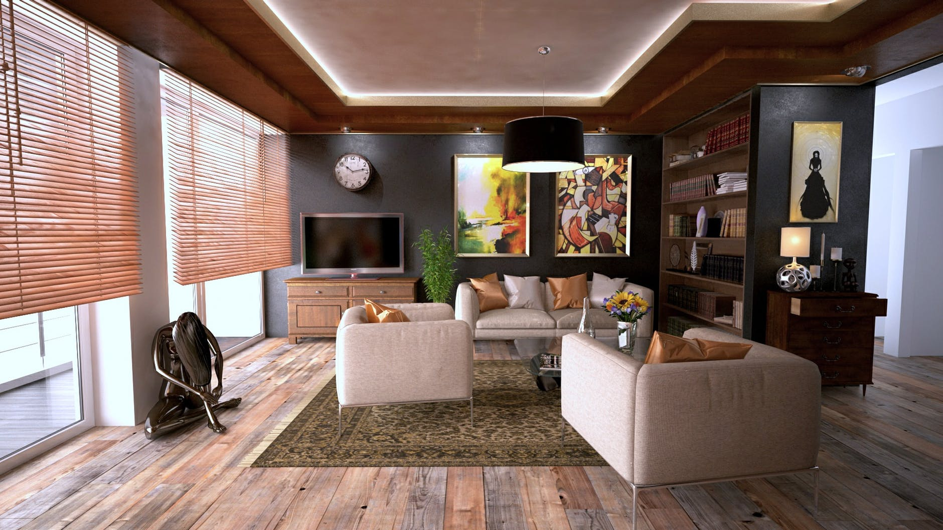 3 Popular Modern Interior Designs